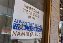 2013 Adventure Travel World Summit - Namibia / October 26-31, 2013 the ATWS took place in stunning Namibia, with time spent exploring the country, pursuing personal development in our plenary and breakout sessions, and networking - the Adventure Travel World Summit is the place for todays leading adventure travel professional