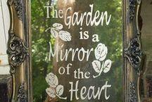 ogrody / Ciekawe, niepowtarzalne, niebanalne inspiracje do ogrodu.