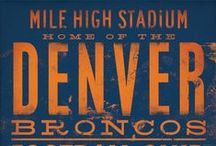 Denver Broncos / We love the Broncos, and now that it's training camp season, we're about to start braggin'. This board is all 'bout the #Broncos