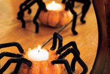 Halloween Home Decor / Ideas, decorations & DIY projects to make your home or apartment spooktacular in time for Halloween.