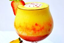 Drink & Taste /         DRINKS FOR EVERYONE  Flavored, colors, garnishes, creamy, fruits, fizzy, cold, hot, / by Virginia Eversole