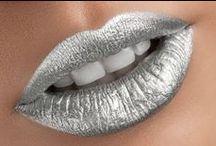 Silberne Lippen
