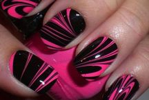 Nail art designs / Nail art designs for gel nails as well as acrylic nails from around the world in every nail colour. Get some nail design ideas for your Christmas nails, cartoon nail art design ideas or even support a charity with your charity awareness nail designs!