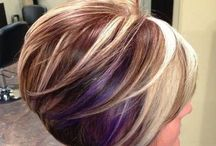 Hair Styles / Different hair styles & hair colours to make you feel on top of the world, even if you live with chronic pain! See some great female hairstyles both short hair such as bob cuts or pixie cuts as well as long hairstyles