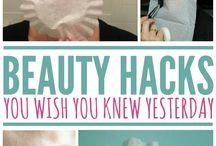 Beauty: skin, make-up, lips, eyes, hair, nails / Beauty tips and hacks for hair, skin care, nail tips, beauty creams, lipsticks, make-up tutorials and beauty hacks
