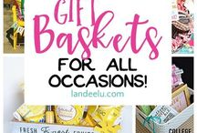 Homemade Gift Ideas | Gift Baskets / Ideas for great homemade gifts, gift baskets....