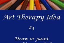 Art Therapy / What is Art Therapy? Isn't it the same as adult colouring? Find out what all the fuss about Art Therapy is, along with quotes, tips & info