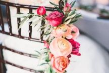 Aisle Decor / Large and small ideas for adding beauty and charm along your walk to your happily every after.