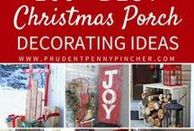 Christmas Decorations & Crafts / Getting your home, tree, garden & table decorated for Christmas
