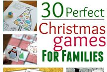 Christmas Fun & Games / Ideas, tips, info on Christmas games and family Holiday fun to make sure no-one's bored!