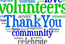 Charity Volunteers / Volunteering / Charities can't survive without volunteers. This board has information, help & support in recruiting volunteers, getting volunteers to help...