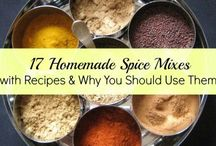 Food: Dips, Sauces, Spices & Spreads / Create your own sauce recipes, spice mix, dips and spread recipes
