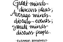 Quotes I love!