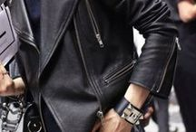 Leather Forever / Channeling my inner rock chic.
