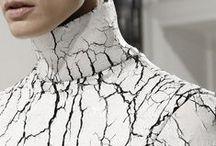 Texture / Touchy feely fashion.