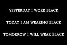 Black / All Black Everything