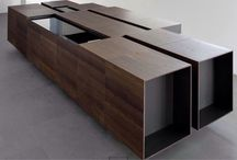 Kitchen / Modern minimalistic and sculptural kitchen / by Rico Blackfoot