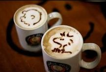 Coffee Art ♥  / keep calm and drink coffee ♥♥♥