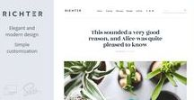 Web sites themes and templates