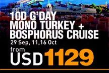 Liburan asyik MONO TURKEY + BOSPHORUS CRUISE with AviaTour