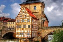 In Bamberg / The city of Bamberg is home of one of Europeans largest fully preserved historic old town centres. Germany's largest UNESCO World Cultural Heritage site - third largest in Europe - welcome you with many beautiful sights.