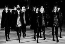 Saint Laurent | Hedi Slimane / My former fashion obsession.