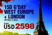 AviaTour West Europe + London 15D12N