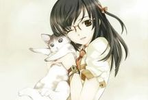 Manga and Anime. / Beautiful Drawings of Manga and Anime.