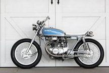 Ideas for a custom bike / Custom ideas for a late 60's early 70's parallel twin scrambler, tracker, brat style bike