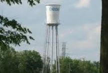 "Water Towers / No dull or ""Plain Jane"" water towers here. These towers are much more interesting.  / by Alpha Betsy"