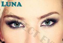 Lentile de contact colorate Luna Color Lens / www.perfect-eyes.ro - Lentilele de contact colorate din gama Luna aduce culori calde si luminoase, lentile ce sunt potrivite in orice moment al zilei. A