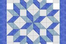 Half Square Triangle Quilt Projects / How many patterns can be created with half square triangles?