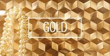 g o l d / Dulux has announced Cherished Gold as Colour of the Year 2016. It makes a striking first impression wherever it is used. See how beautiful sumptuous gold tiles can be in both commercial and residential settings.