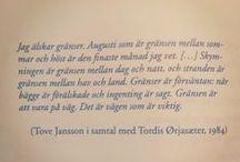 Svenska ordspåk, citat... / Swedish proverbs and quotes