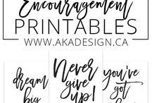Free printables ▶