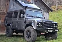 Land Rover Defender Campers / The ultimate 'go anywhere' camper van.