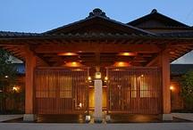 Japanese-style inn / Traditional Japanese-style inn ※日本の伝統的な宿(YADO), 旅館(RYOKAN)