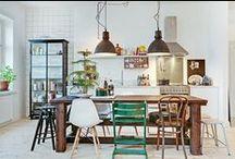 Eclectisch, oftewel mix en match / Design, modern, landelijk, klassiek, vintage gemixt tot een harmonisch interieur | www.ongewoonadvies.nl