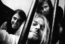 Nirvana / The legendary grunge-rock band that was more popular than popularity itself. / by Gabrielle Hawes