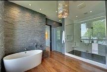 Salle de bains et WC / Retrouvez toutes les idées de déco, travaux et aménagement  pour votre salle de bain