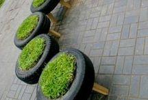 Tuin / Inspirerende en praktische tuin ideeën