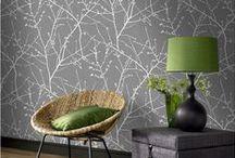 Peinture, papier peint, masking tape / Retrouvez toutes les idées de déco, tendance couleurs pour décorer vos murs