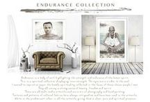 Endurance {Collection} by Francoise V / Endurance is a body of work highlighting the strength of the human spirit.  We endure so much in life, yet we can come out stronger, wiser and more blessed.  This is a spiritual series displaying inner strength, where the eyes are a window to the soul.  I wanted to imprint on paper, the humble spirituality, reflected in the faces of these chosen people I met.  They all convey a strong sense of beauty, freedom and spirit.