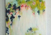 střešní zahrada jako abstraktní obraz / střešní zahrada jako abstraktní obraz