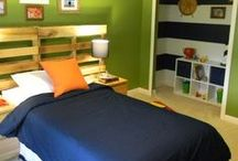 Brainstorming: Boys Rooms / Decor ideas for the little men in our lives.
