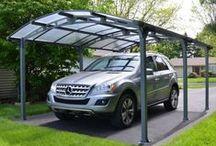 Carport et garage / Retrouvez toutes les idées de carports et garages pour protéger au mieux votre voiture, été comme hiver. | #carport #garage #abri