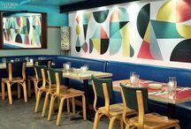 Restaurant // shop // décor // intérieur inspiration / Les décors les plus inspirants, design et expérience client
