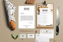 Identités de marque - restaurant #branding #food