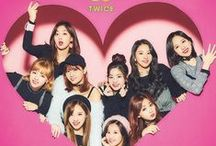 """Twice / Twice (Hangul: 트와이스; stylized as TWICE) is a South Korea-based girl group formed by JYP Entertainment through the 2015 reality show Sixteen. The group is composed of nine members: Nayeon, Jeongyeon, Momo, Sana, Jihyo, Mina, Dahyun, Chaeyoung, and Tzuyu. The name of the group """"TWICE"""" was named by Park Jin Young. The group debuted on October 20, 2015."""