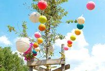 Déco de jardin / Profiter d'un beau jardin et d'une terrasse accueillante pour faire la fête avec amis et famille